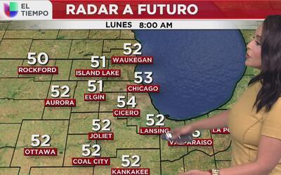 Este lunes 17 de abril amaneceremos con algo de frío en Chicago