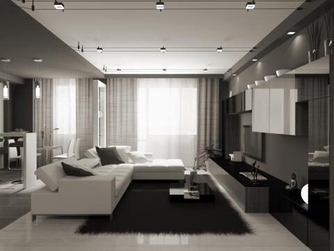 Trucos para iluminar habitaciones oscuras