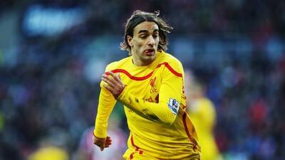 El atacante serbio marcó el único gol del partido para el triunfo del Li...