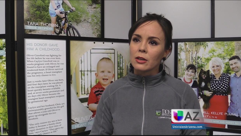 Arizona alcanza récord en registro de donación de órganos