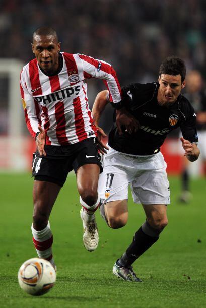 PSV jugaba ante el Valencia, tras haber perdido en la Ida por 4-2.