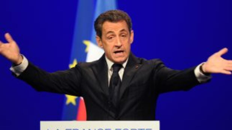 El presidente de Francia, Nicolás Sarkozy.