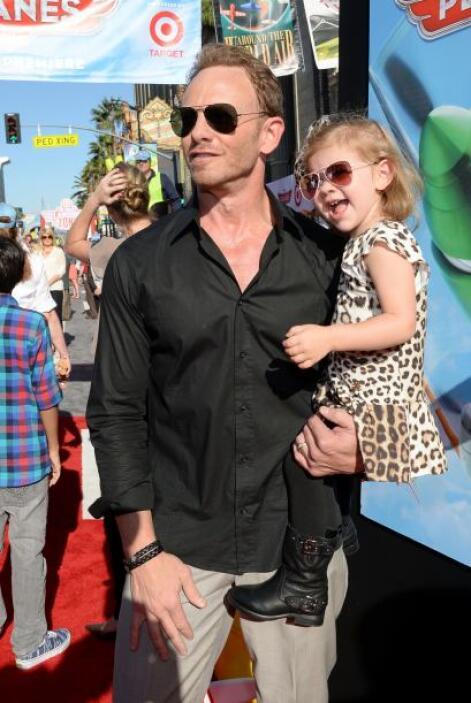 ¿Recuerdan a Ian Ziering de la famosa serie 'Beverly Hills 90210'? Pues...