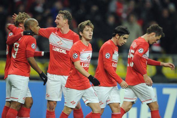 Por último y como el primer juego disputado en el día, el Spartak de Mos...