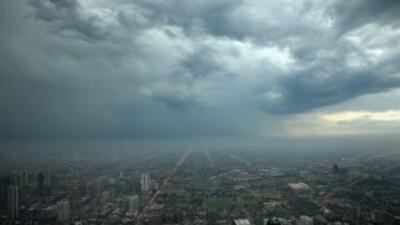 Sistema podría traer lluvias y tormentas eléctricas