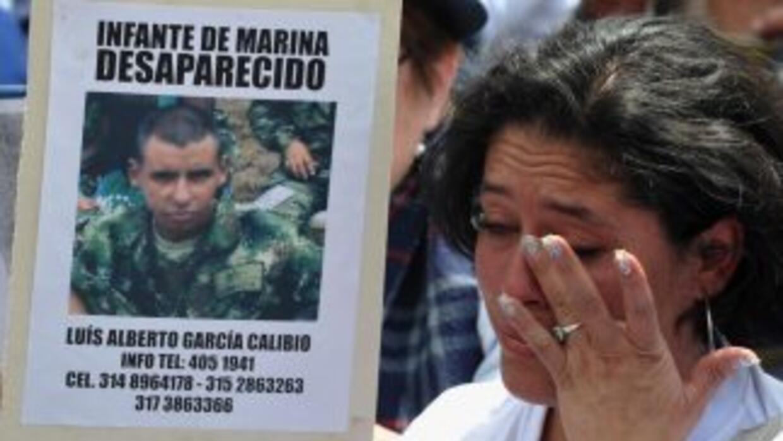 Familiares abogan por sus víctimas desaparecidas.