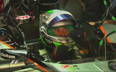 Sergio 'Checo' Pérez en busca de sumar puntos en el GP de Italia
