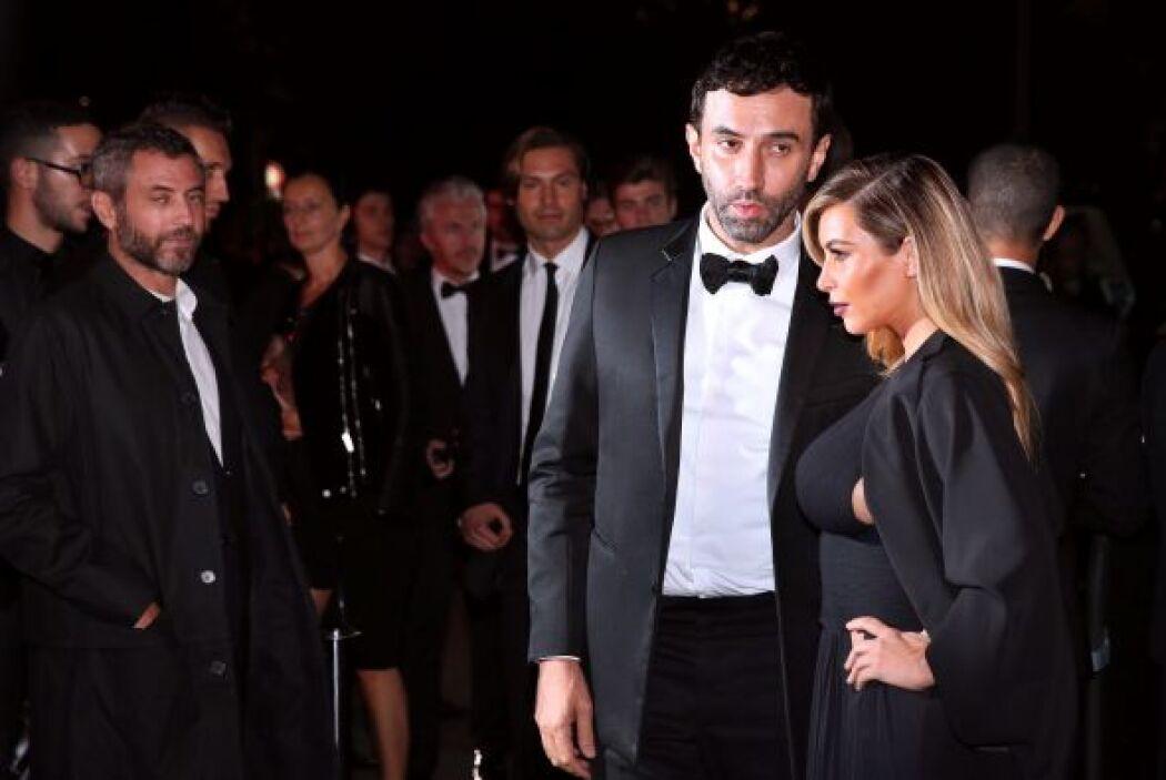 Llegó de la mano de Riccardo Tisci, el diseñador de la casa Givenchy y c...