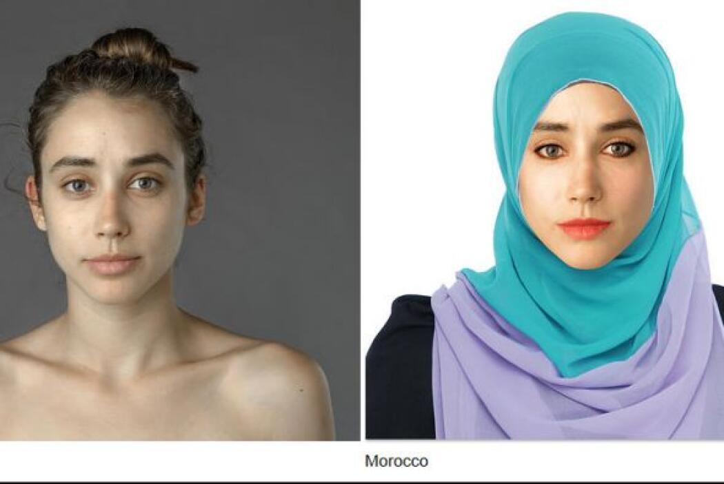 Esther Honng hizo modificar su rostro según la belleza de diferentes paí...