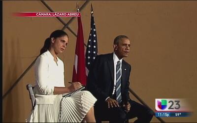 Obama se reunió con cuentapropistas en Cuba