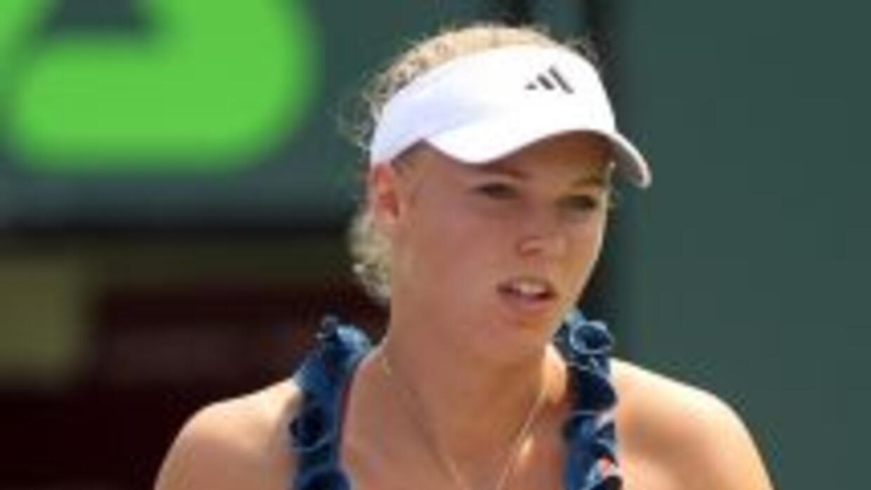 Wozniacki saldrá en busca su tercer título del año, luego de sus triunfo...