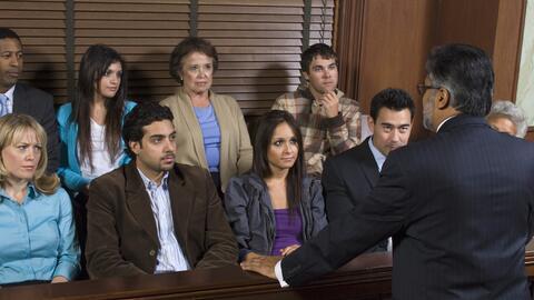 Un jurado (foto de archivo).