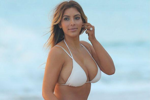 Kim Kardashian tampoco nos iba a decepcionar. Mira aquí los video...