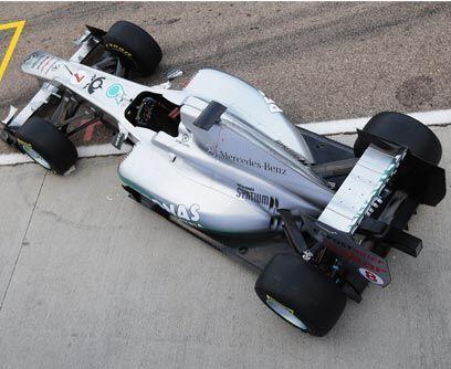 Para regresar a lo más altoA pesar de la alineación estelar, Mercedes te...