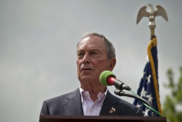 El alcalde de Nueva York, Michael R. Bloomberg, encabezó la ceremonia de...
