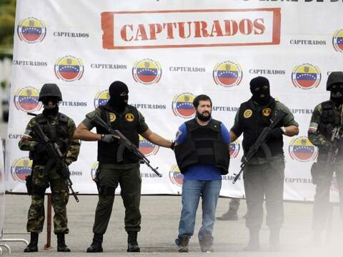 Seis hombres reclamados por la justicia colombiana por narcotráfico, ent...