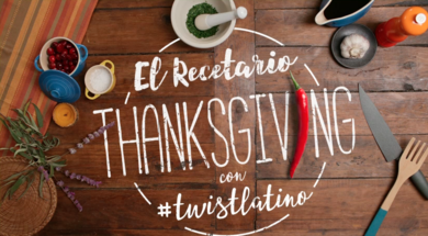 Thanksgiving con twistlatino