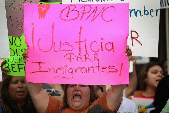 En su segundo discurso de inauguración Obama habló de los inmigrantes in...