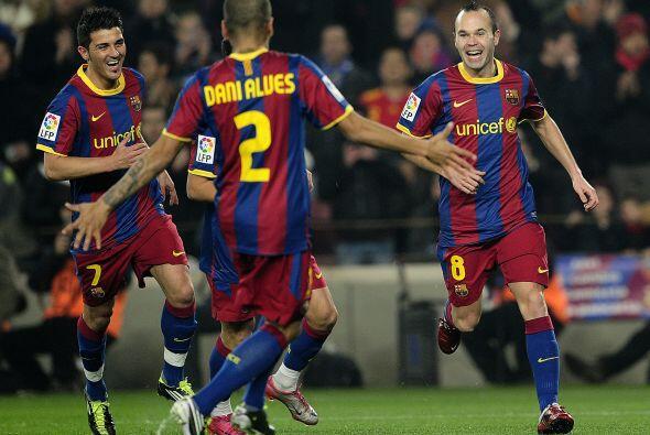 Llegó la mitad de la Liga española 2010-11 y se decid&iacu...