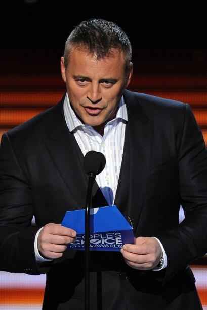 Matt fue el encargado de anunciar el último premio de la noche.