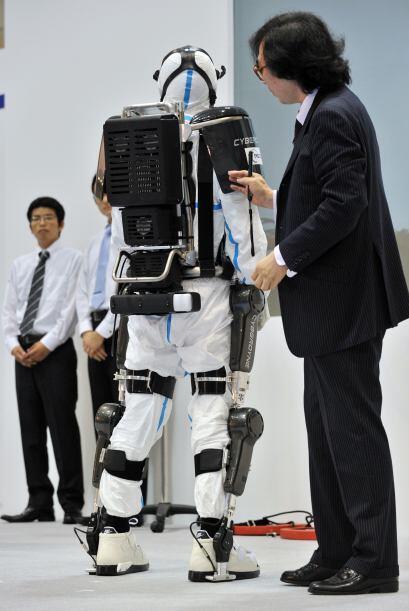 La presentación del traje en Tokio se produjo poco más de...