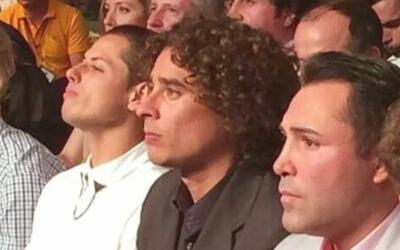 Memo Ochoa, Javier 'Chicharito' Hernández y Oscar de la Hoya apoyaron al...