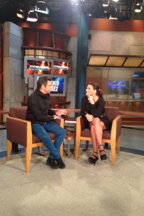 """Eugenio Derbez visitó nuestro estudio para hablar de su película """"Inst..."""