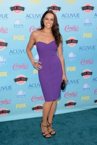 Michelle Rodriguez La actriz de las sagas de 'The Fast and The Furious'...