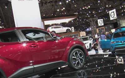 Los carros más caros y rápidos del mercado en el show de autos de Nueva...