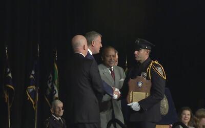 Nueva York cuenta con 646 nuevos policías