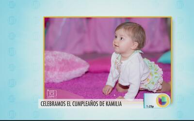 Kamilia cumplió un año