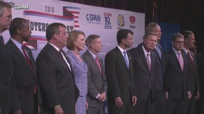 Eligen a los diez precandidatos republicanos para el primer debate formal
