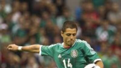 Javier 'Chicharito' Hernández.