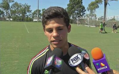 González: 'Tenemos un buen grupo, aunque hay que hablar en la cancha'