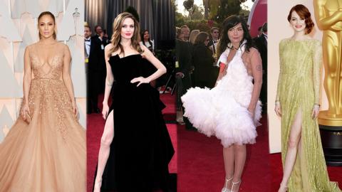 vestidos mas iconicos premios Oscar