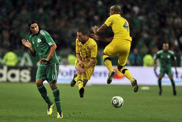 Panathinaikos enfrentó al Maccabi Tel-Aviv.