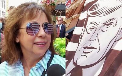 La Convención Nacional Republicana entre protestas y souvenirs