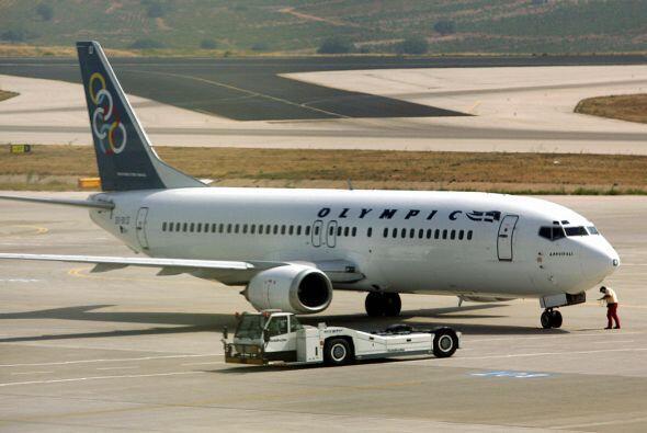 Septiembre de 2009- La compañía Olympic Airlines se declara en quiebra l...