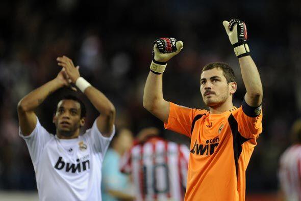 El Madrid aguantó el empuje del Atlético, Casillas se conv...