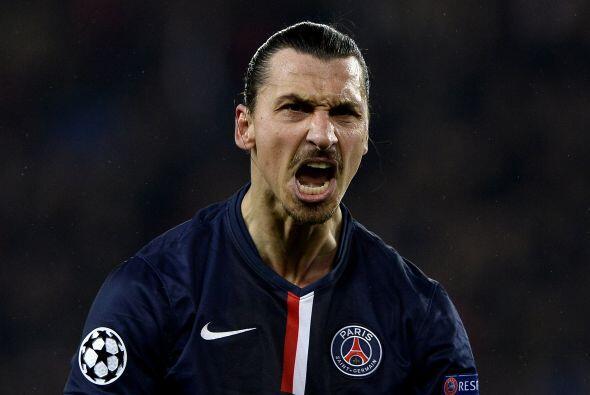 El centro delantero no es otro que Zlatan Ibrahimovic. El sueco pudiera...
