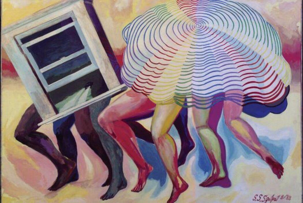 """Steven Sandor Selpal, """"Inside-Outside Vortex -""""Drawing Autism""""es una..."""