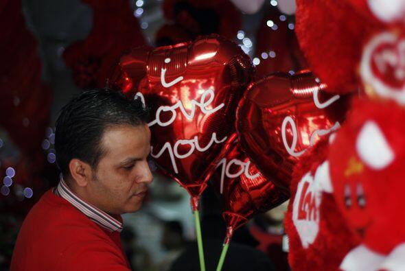 Palestina se ha unido a los festejos del día de San Valentín a su manera...