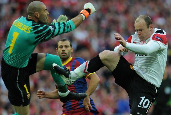 Manchester United pudo haber convertido el primero en una jugada extra&n...