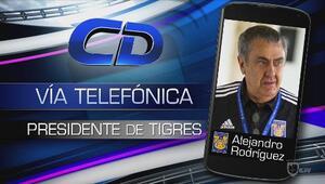 """Alejandro Rodríguez: """"Esperamos que Alán reflexione"""""""