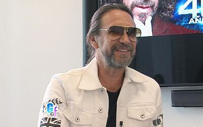 El 'Buki', Marco Antonio Solís, nos adelantó cómo celebrará sus 40 años...