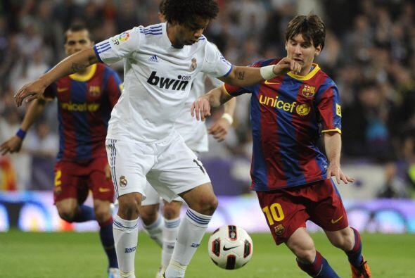 Marcelo también usó la banda, aunque con manos frecuencia. El brasileño...