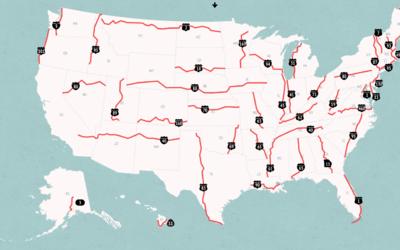 El estudio de Geotab señala a la US a su paso por Florida como la carret...