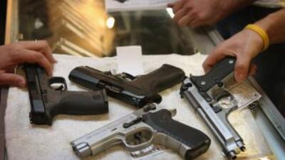 Mientras el debate se enciende en Estados Unidos, las armas de fuego mat...