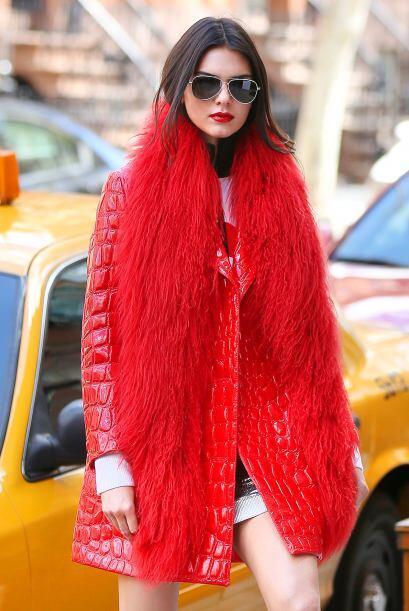 La chica Jenner posó para otro 'shoot' de la revista Vogue.