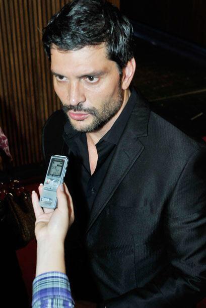 El actor está feliz por su nominación por Mejor Actor Anta...